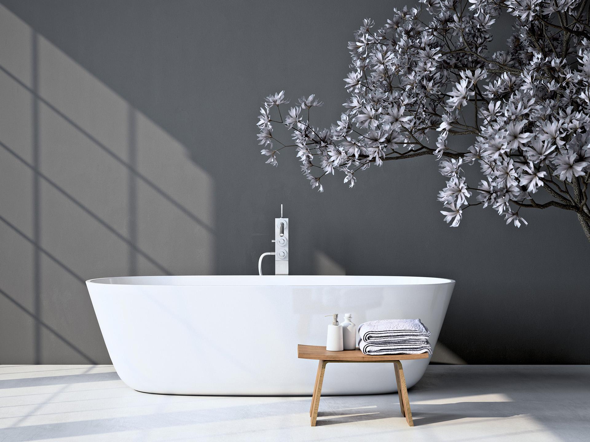 Festpreisbad Badideen Elegante freihstehende Badewanne 21